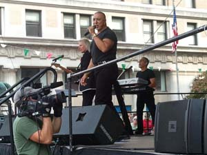 Scene from the West Virginia Italian Heritage Festival